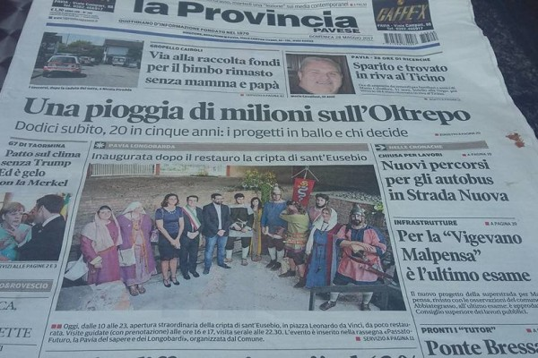rassegna provincia pavese may17